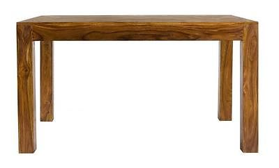 Cube Petite Chunky Indian Sheesham Wood 135cm Dining Table