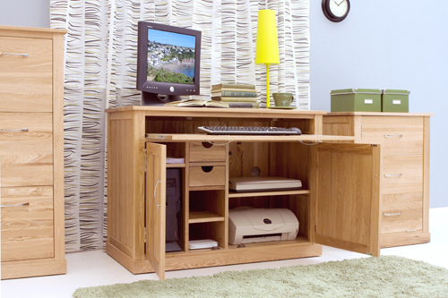 oak hidden home office. Oak Hidden Home Office E